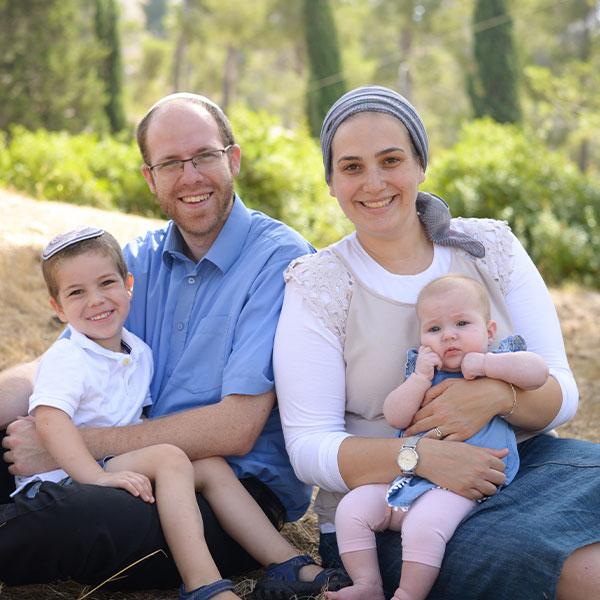 Rav Joel & Sarah Kenigsberg